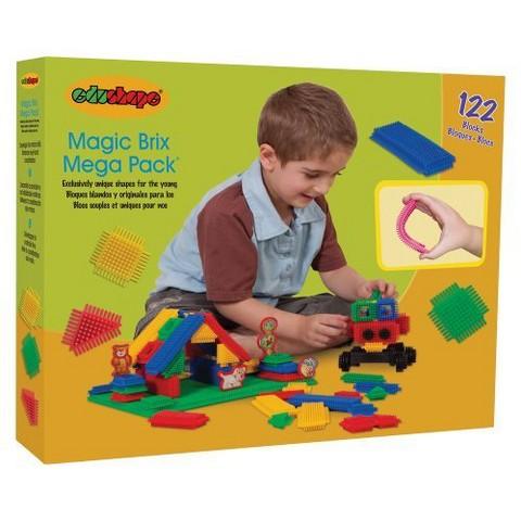 Edushape Magic Brix-Mega Pack - 122 Piece