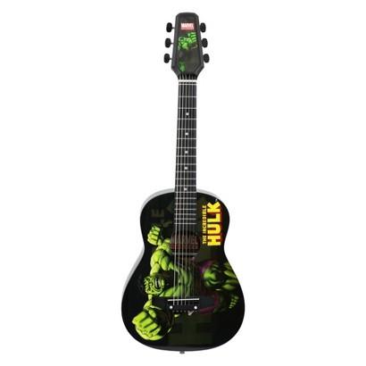 Marvel Incredible Hulk Junior Acoustic Guitar - Black (30120000)