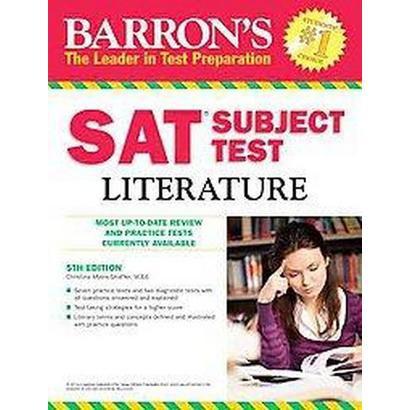 Barron's SAT Subject Test Literature (Paperback)