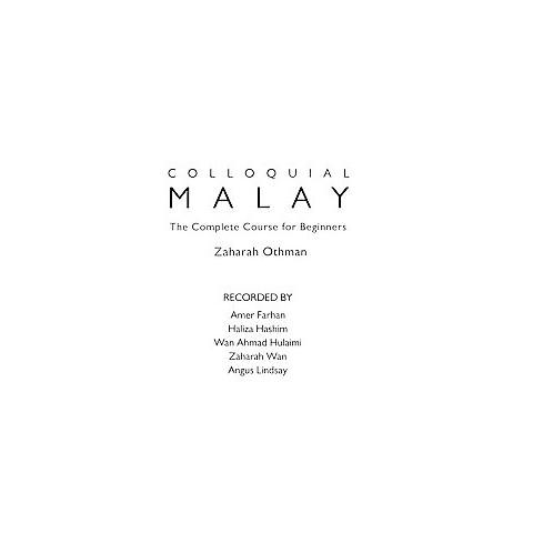 Colloquial Malay (Compact Disc)