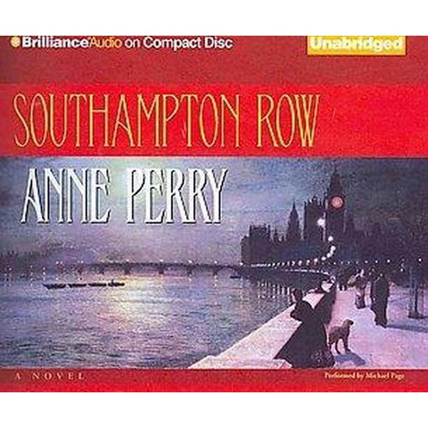 Southampton Row (Unabridged) (Compact Disc)
