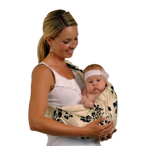 Balboa Baby Four Position Adjustable Sling Carrier - Lola
