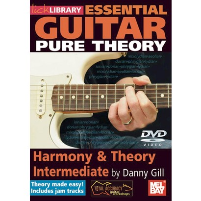 Lick Library: Essential Guitar Pure Theory - Harmony & Theory Intermediate