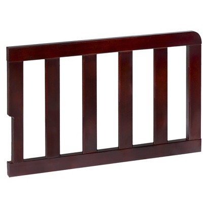 Delta Toddler Bed Guardrail for 5th Avenue 4-in-1 Convertible Crib - Espresso Java