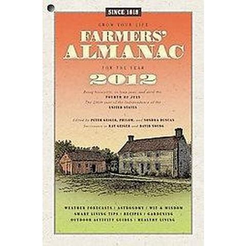 Farmers' Almanac 2012 (Paperback)
