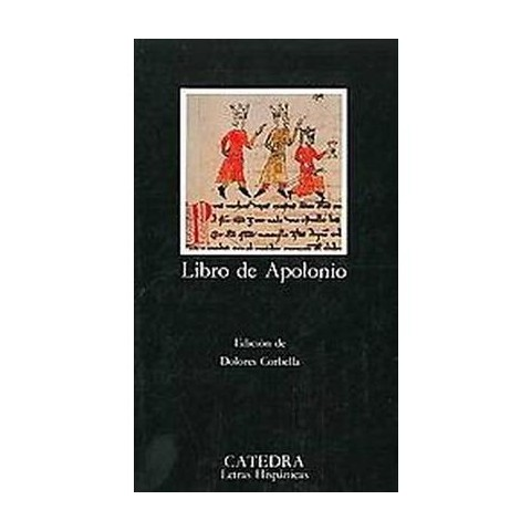 Libro de Apolonio/ The Apolonio Book (Paperback)
