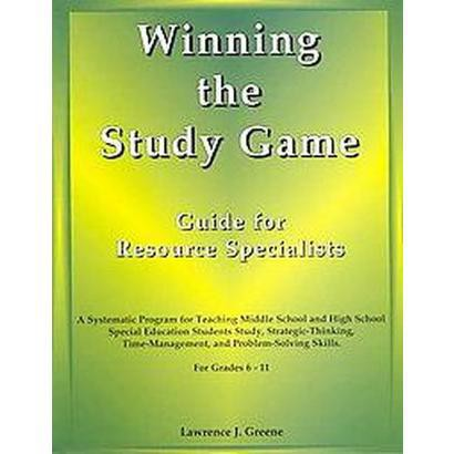 Winning the Study Game Guide for Resource Specialists (Paperback)