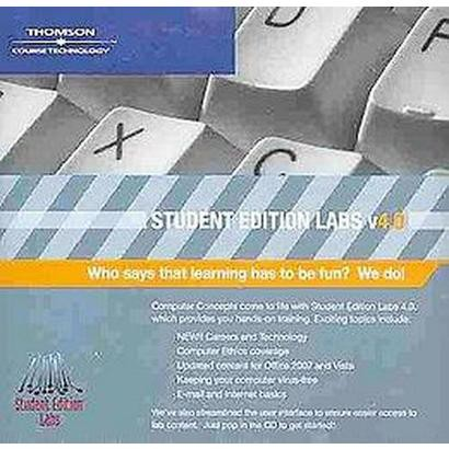 Computer Concepts: Student Edition Labs V4.0 (CD-ROM)