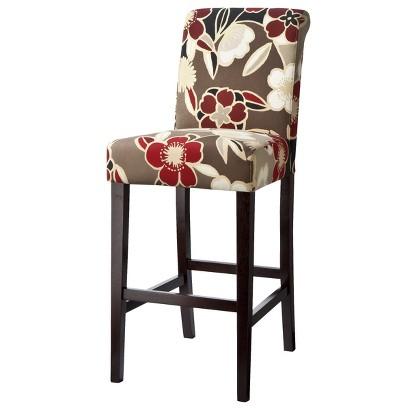 "30"" Avington Bar Stool - Red Floral"