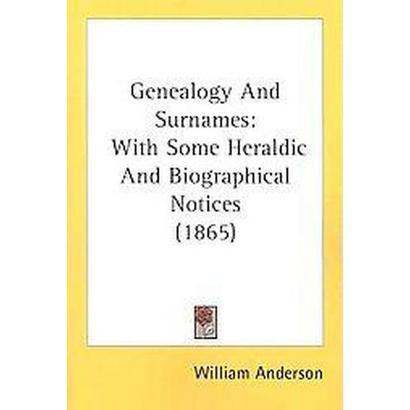 Genealogy and Surnames (Paperback)