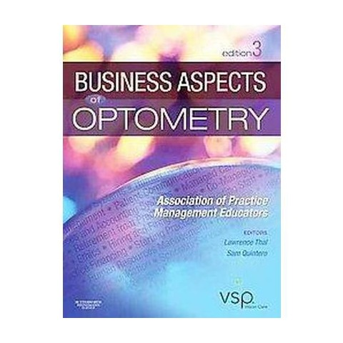 Business Aspects of Optometry (Hardcover)