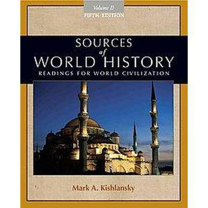 Sources of World History (2) (Paperback)