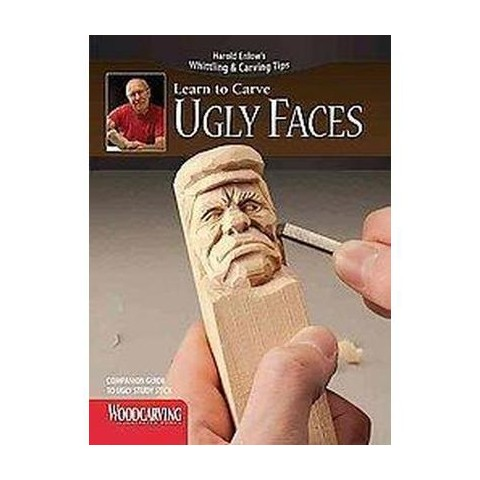 Ugly Faces Study Stick Kit ( Learn to Carve) (Mixed media product)