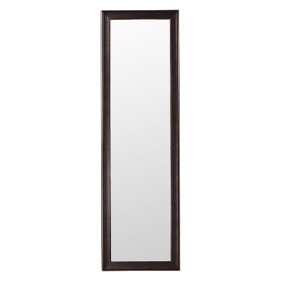 mcs industries over the door mirror bronze target. Black Bedroom Furniture Sets. Home Design Ideas