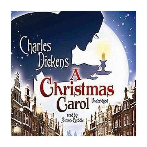 A Christmas Carol (Unabridged) (Compact Disc)