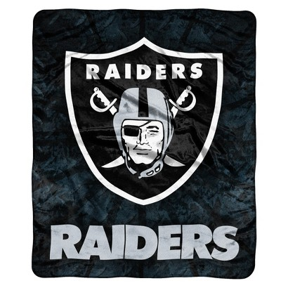 NFL Throw Raschel - Raiders