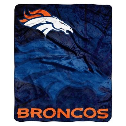 NFL Throw Raschel - Broncos