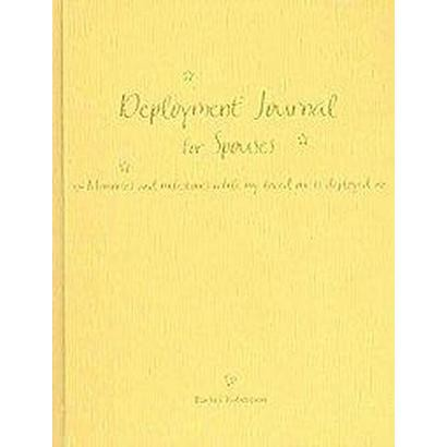 Deployment Journal for Spouses (Hardcover)