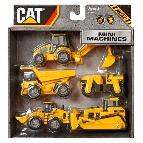 Caterpillar Mini Machines 5 Pack
