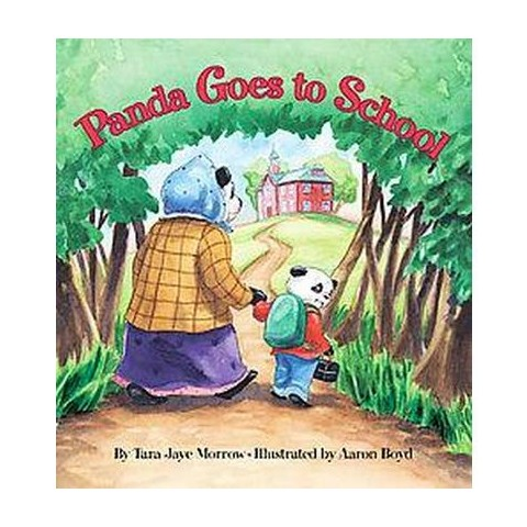 Panda Goes to School (Hardcover)