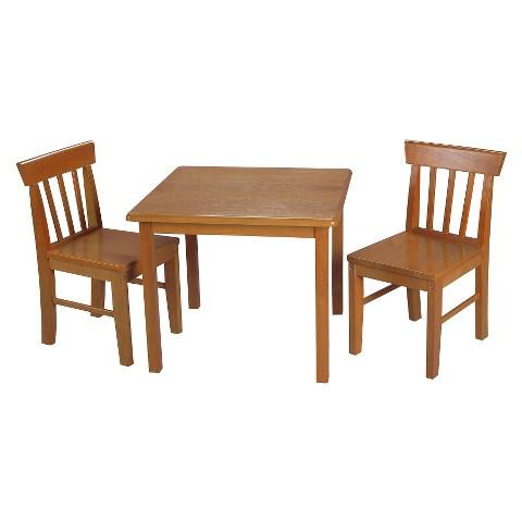 Gift Mark Honey Squr Table 2 Chair set