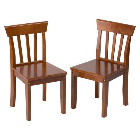 Gift Mark Cherry Children 2 Chair Set