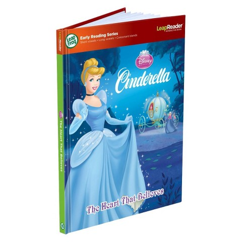 LeapFrog® LeapReader™ Book: Disney Cinderella: The Heart That Believes (works with Tag)
