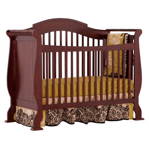 Stork Craft Valentia 4-in-1 Convertible Crib