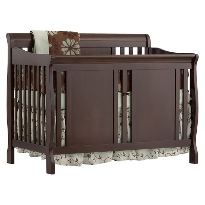 Stork Craft Verona 4-in-1 Convertible Crib - Espresso