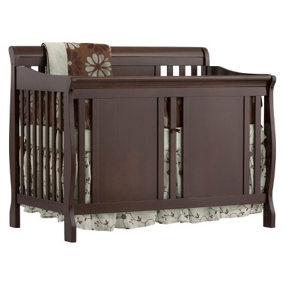 Stork Craft Verona 4-in-1 Fixed Side Convertible Crib