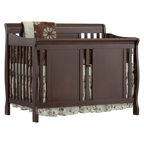 Stork Craft Verona 4-in-1 Fixed Side Convertible Crib