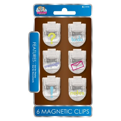 The Board Dudes Magnetic Clips 6-ct.