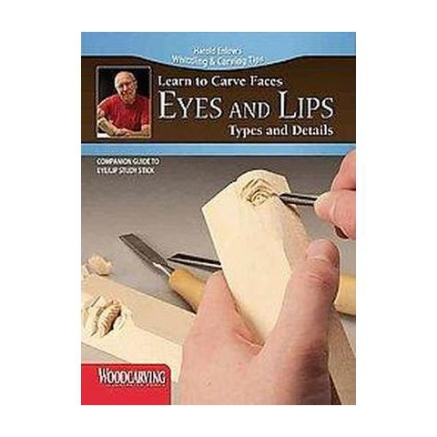 Eyes and Lips Study Stick Kit ( Learn to Carve Faces) (Mixed media product)