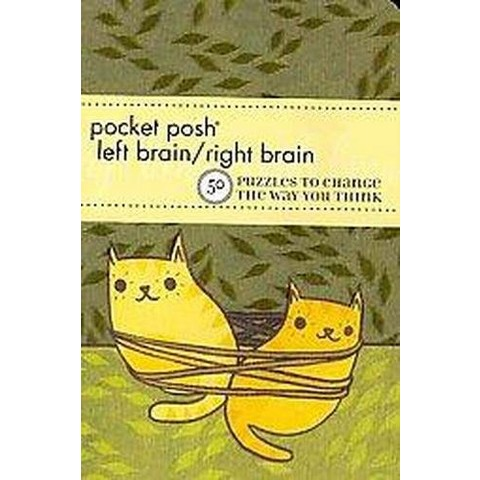 Pocket Posh Left Brain / Right Brain (Paperback)
