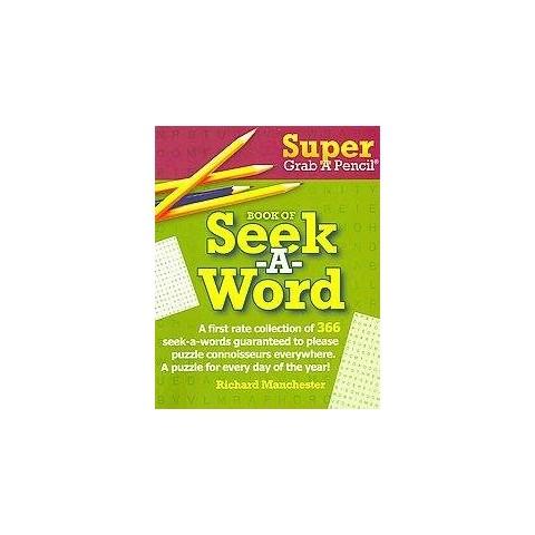 Super Grab a Pencil Book of Seek-a-Word (Paperback)