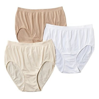 Beauty by Bali® Intimates Women's 3-Pack Briefs BT40WP - Assorted Colors