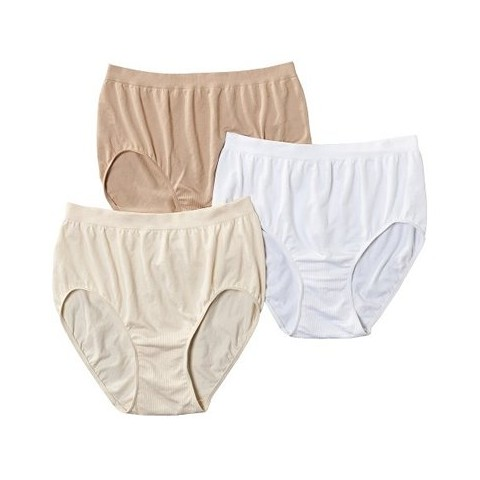 Beauty by Bali® Women's Briefs BT40WP 3-Pack (Colors May Vary)
