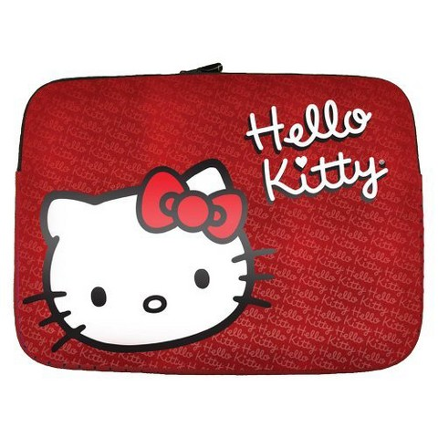 "Hello Kitty 15.6"" Laptop Sleeve - Red (KT4315RW)"
