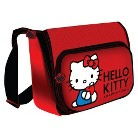 "Hello Kitty Horizontal Messenger Style 15.4"" Laptop Bag - Red"