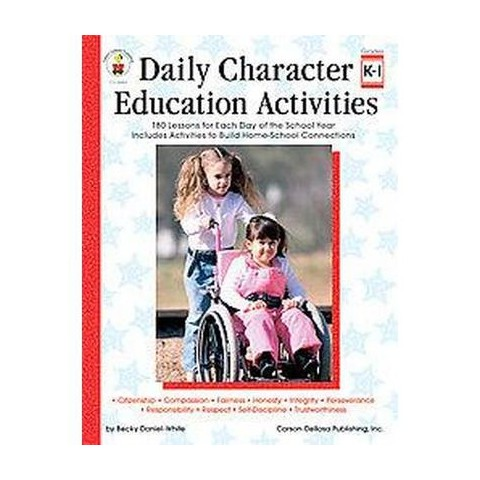 Daily Character Education Activities (Workbook) (Paperback)