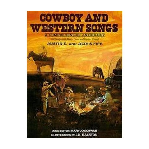 Cowboy and Western Songs (Reissue) (Paperback)