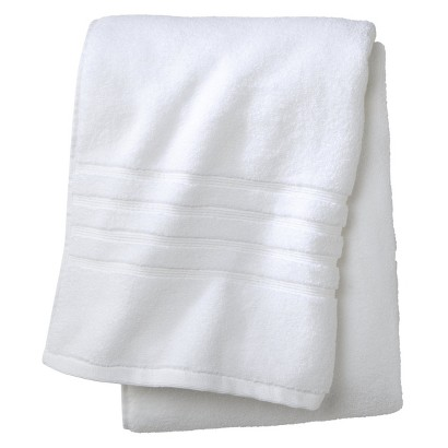 FIELDCREST® LUXURY BATH TOWEL - TRUE WHITE