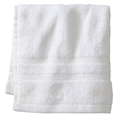FIELDCREST® LUXURY WASH CLOTH - TRUE WHITE
