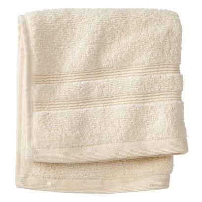 Fieldcrest Luxury Wash Cloth - Shell