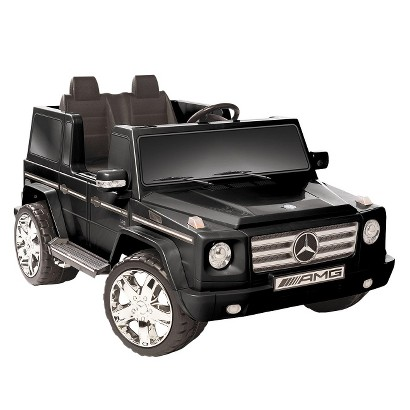 Kid Motorz Mercedes Benz G55 12V Two Seater Ride On - Black