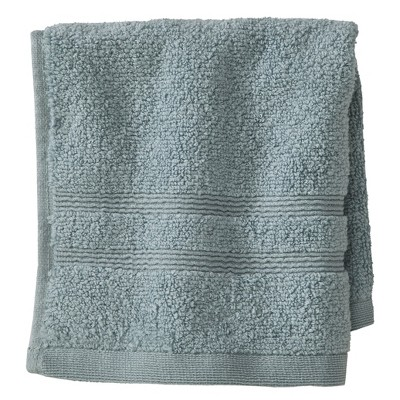 Fieldcrest® Luxury Wash Cloth - Aqua Spill