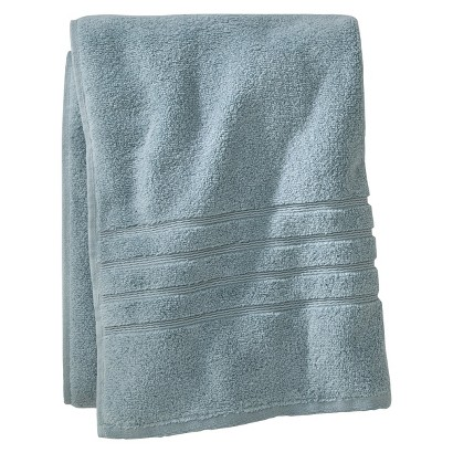FIELDCREST® LUXURY BATH SHEET - AQUA SPILL