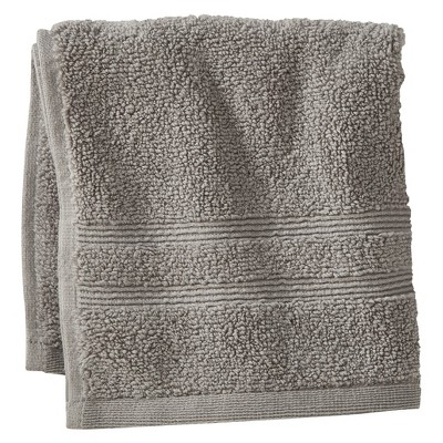 Fieldcrest® Luxury Wash Cloth - Skyline Gray
