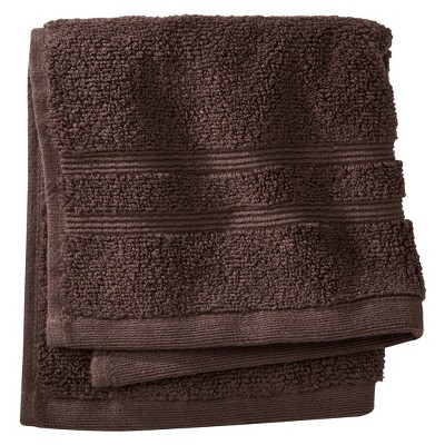 Fieldcrest® Luxury Wash Cloth - Morel Brown