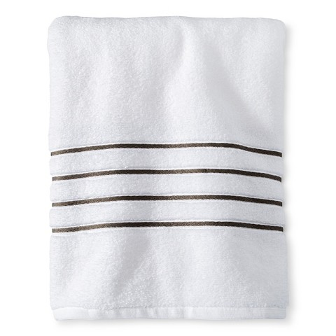 Stripe Accent Bath Towels - Fieldcrest™